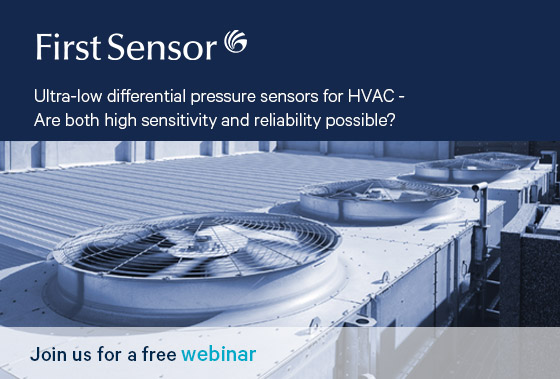 Webinar Pressure Sensors for HVAC First Sensor