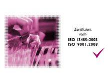 ISO 13485:2003 Zertifikat